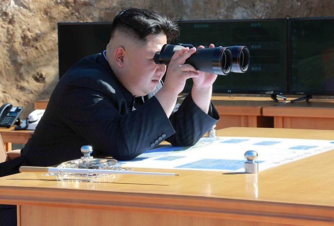 Chủ tịch Triều Tiên Kim Jong-un.