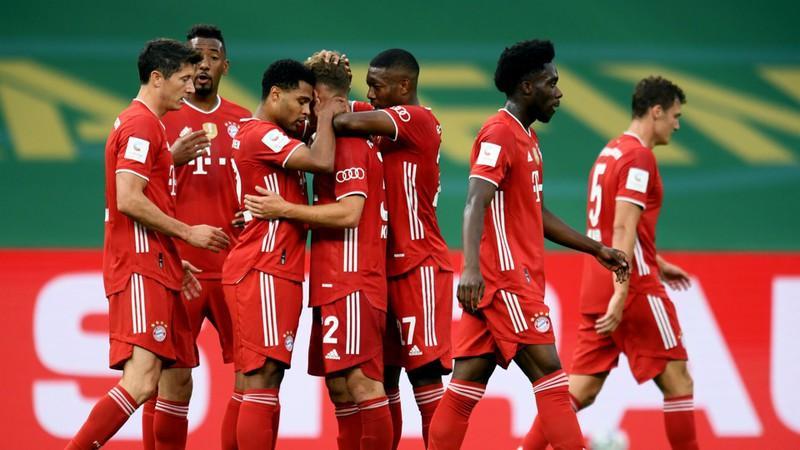 Bayern Munich quá mạnh so với Leverkusen (Ảnh: Getty).