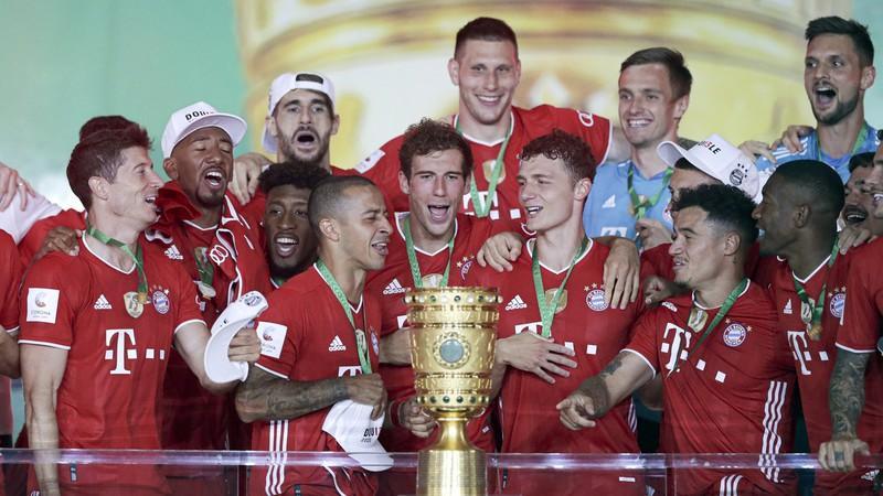 Chức vô địch Cúp QG Đức hoàn toàn xứng đáng của Bayern. (Ảnh: DW).
