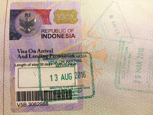 Indonesia ngừng áp dụng giấy phép cư trú khẩn cấp cho người nước ngoài bị kẹt lại Indonesia. Nguồn: Baliviza