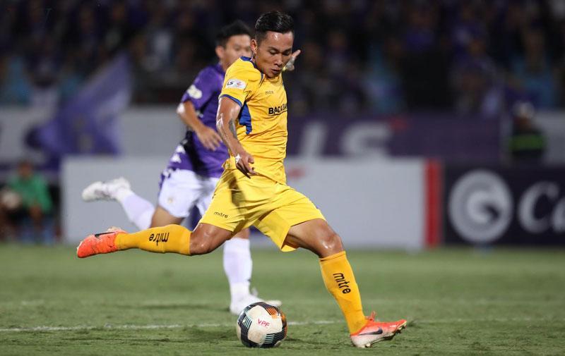Tuấn Tài đã có được 20 bàn thắng ở đấu trường V-League.