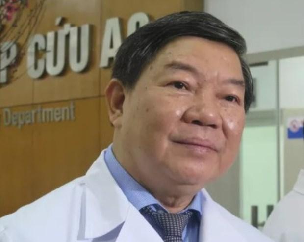 Nguyên Giám đốc Bệnh viện Bạch Mai Nguyễn Quốc Anh.