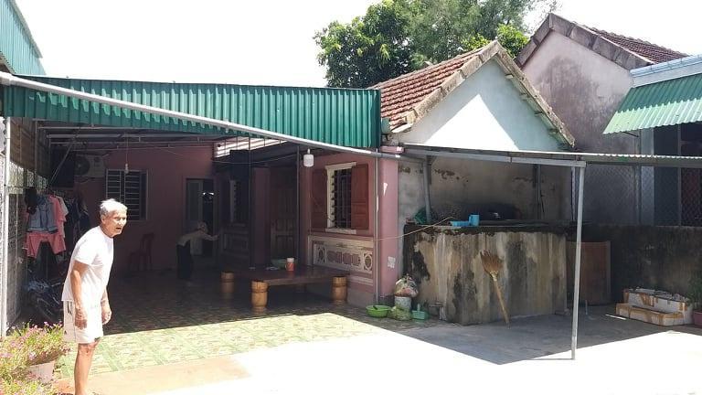 Căn nhà của vợ chồng anh Bình ở quê