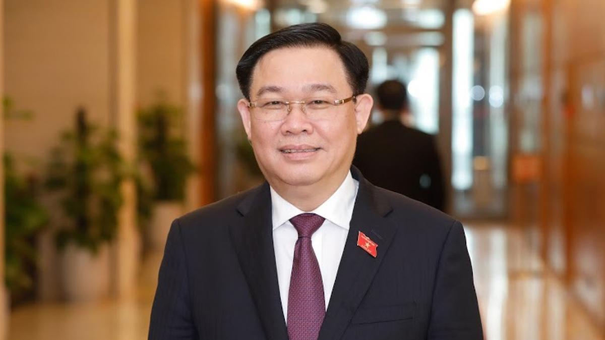 Chủ tịch Quốc hội khóa XIV Vương Đình Huệ
