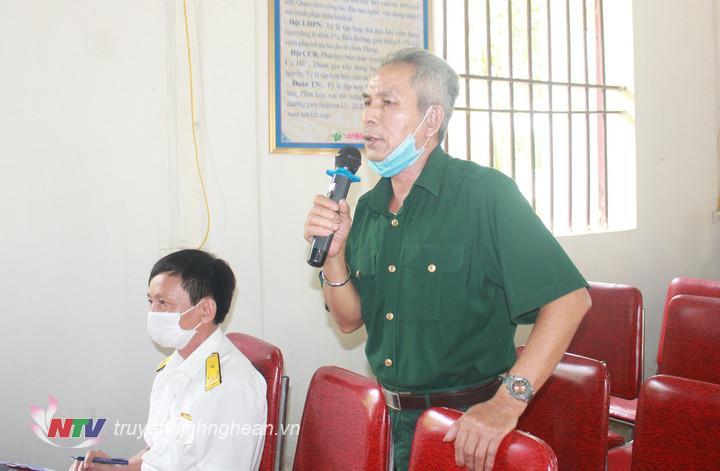 Cử tri Trần Văn Ngọ thôn Quyết Thắng xã Tường Sơn