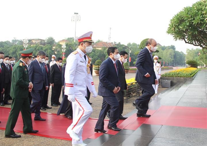 Theo chương trình dự kiến của kỳ họp thứ nhất Quốc hội khoá XV, phiên khai mạc diễn ra vào 20/7 và bế mạc vào 31/7. Công tác tổ chức, nhân sự cấp cao của Nhà nước là nội dung trọng tâm của kỳ họp đầu tiên trong nhiệm kỳ Quốc hội khóa XV.