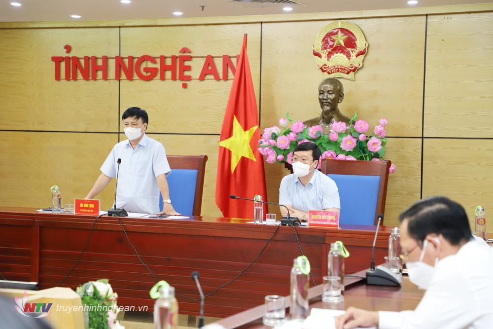 Phó Chủ tịch UBND tỉnh Bùi Đình Long đề nghị các địa phương quản lý chặt