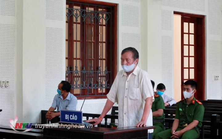 Bị cáo Nguyễn Văn Bính tài toà