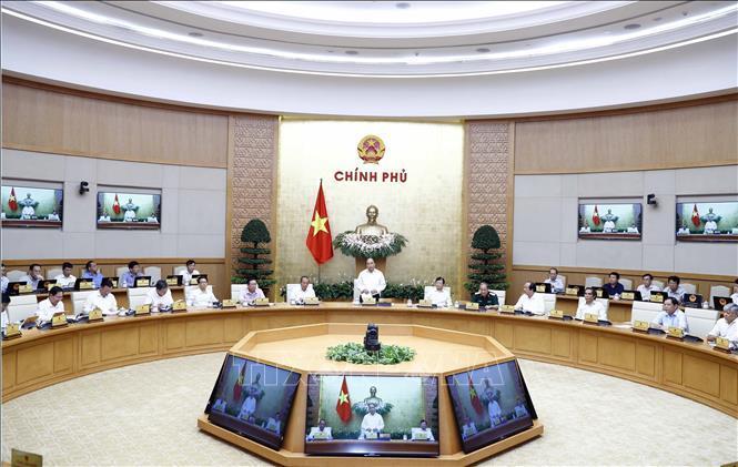 Thủ tướng Nguyễn Xuân Phúc chủ trì Phiên họp Chính phủ thường kỳ tháng 7/2019.