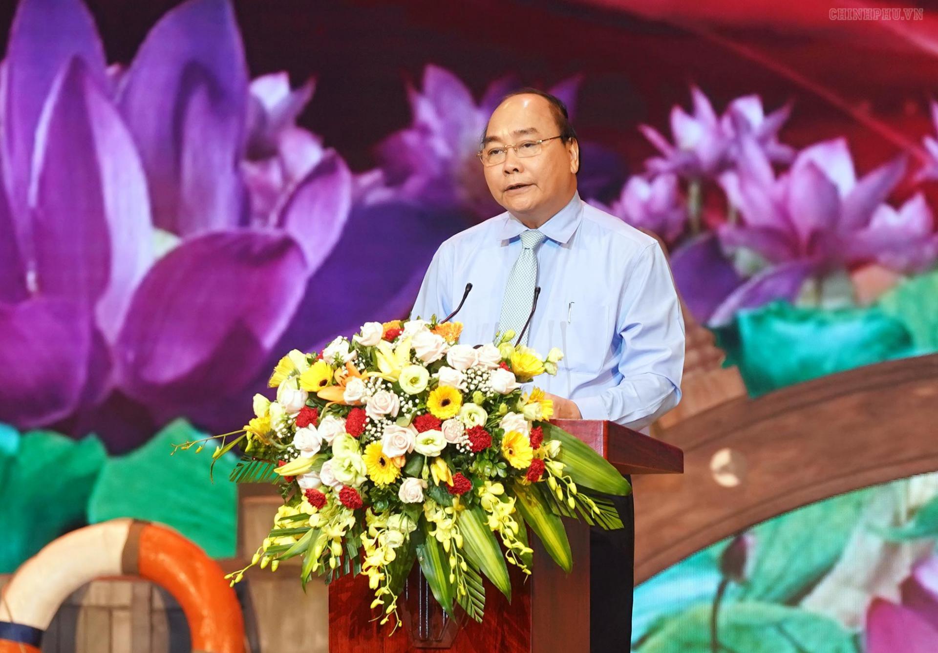 Thủ tướng Nguyễn Xuân Phúc phát biểu tại cuộc Giao lưu