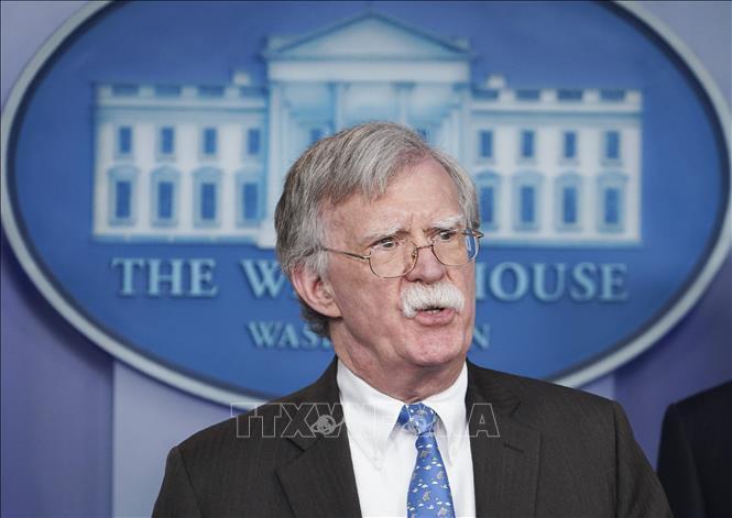 Cố vấn An ninh quốc gia Mỹ John Bolton.