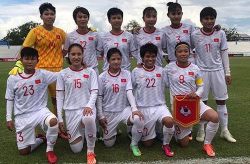 Đội hình xuất phát của ĐT nữ Việt Nam trước Myanmar