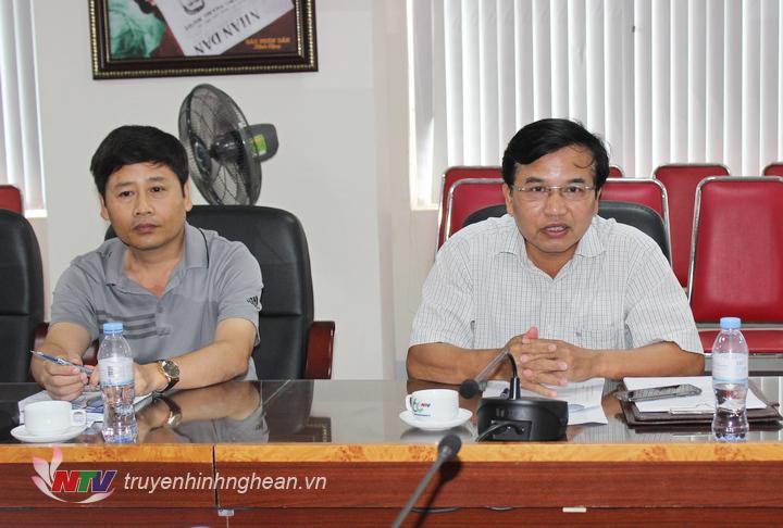Đồng chí Nguyễn Như Khôi - Tỉnh ủy viên, Giám đốc Đài PT-TH Nghệ An