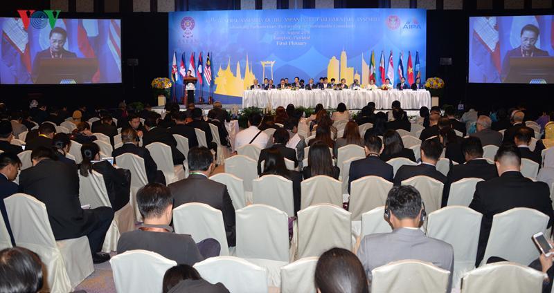 Chủ tịch Quốc hội phát biểu tại phiên toàn thể của AIPA