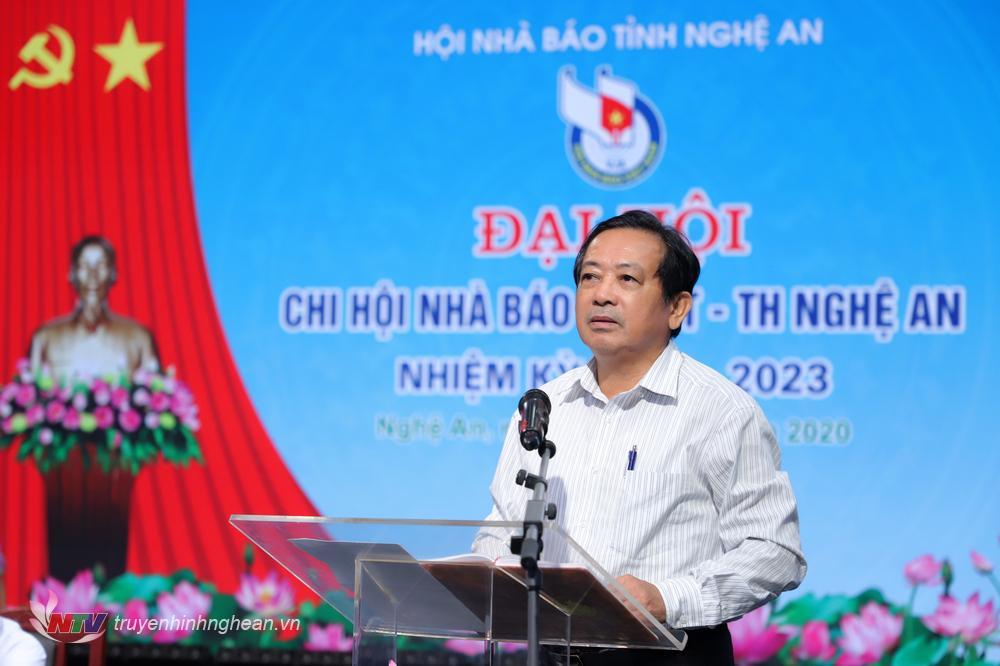 Đồng chí Trần Duy Ngoãn - Chủ tịch Hội Nhà báo Việt Nam tỉnh Nghệ An
