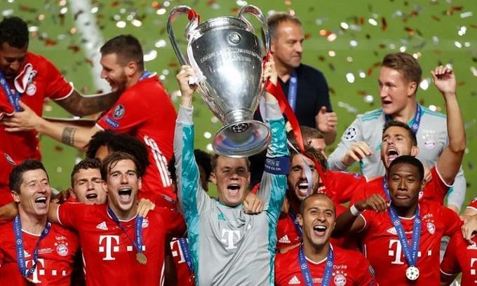 Bayern toàn thắng 11 trận ở Champions League mùa này. Ảnh: Reuters.