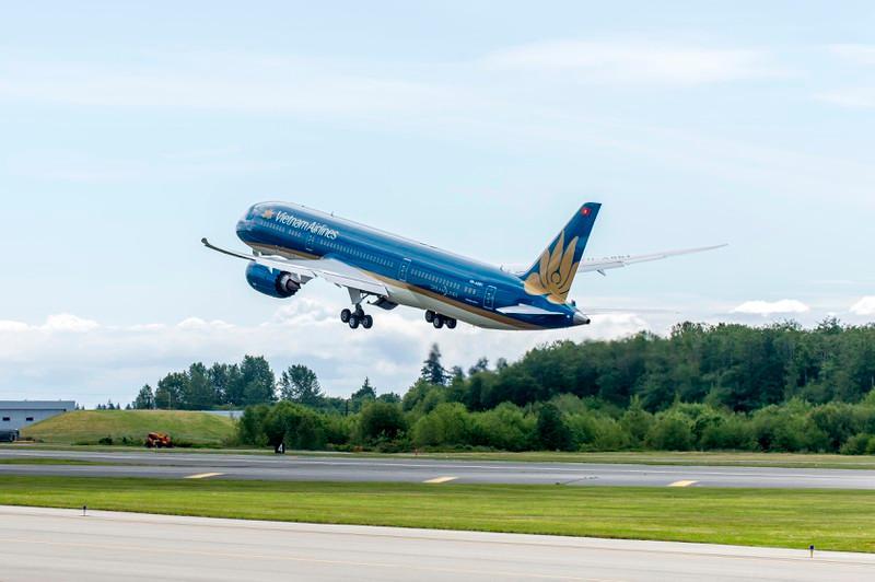 Cả 3 chuyến bay này, Vietnam Airlines sẽ dùng máy bay thân rộng Airbus A350, một trong những dòng tàu bay lớn nhất, hiện đại nhất của hãng hiện nay để chuyên chở.