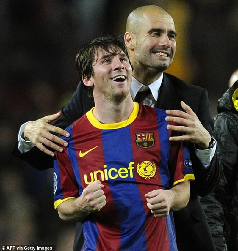 Messi sẽ tái hợp với Pep ở Man City?