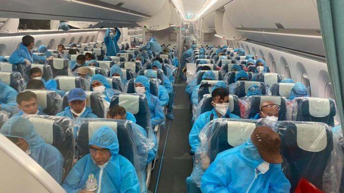 Chuyến bay đón công dân từ Guinea Xích đạo về nước.
