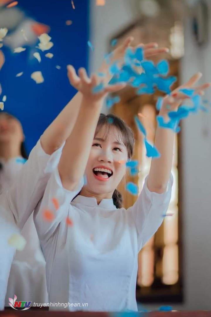 Chân dung nữ thủ khoa khối C kỳ thi tốt nghiệp THPT năm 2020 tại Nghệ An.