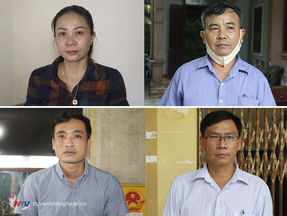 4 bị can bị khởi tố.