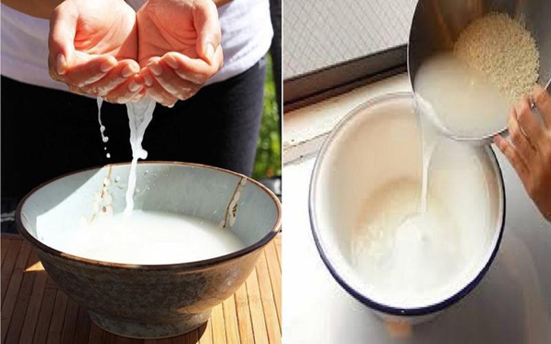 Nước vo gạo: Các vitamin PP có trong nước gạo sẽ tẩy sạch các mảng bám, mảng đóng trong kẽ răng, làm sạch răng bị sâu, chống viêm nha chu và khử mùi hôi ở miệng. Bạn chỉ cần giữ nước vo gạo sau mỗi lần nấu cơm, sau đó súc miệng bằng nước vo gạo rồi súc miệng lại bằng nước lạnh.