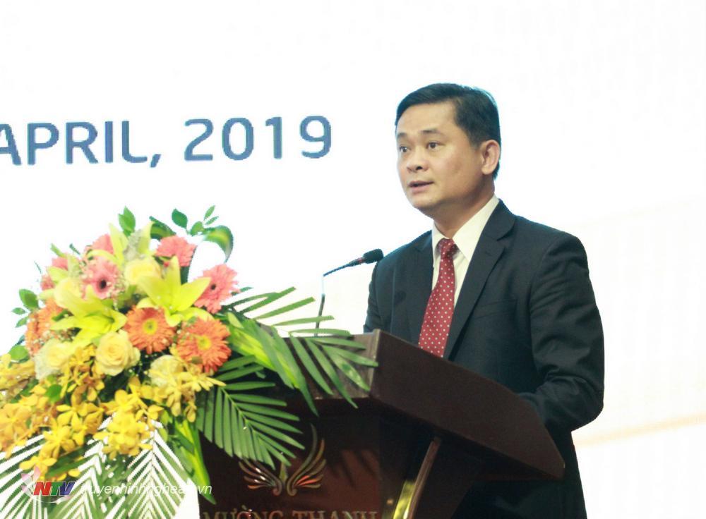 Chủ tịch UBND Thái Thanh Quý phát biểu khai mạc tại Hội nghị.