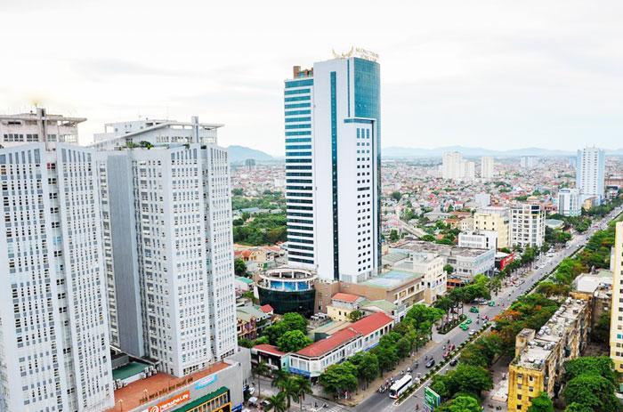 Một góc thành phố Vinh. (Tư liệu)