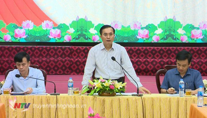Phó Chủ tịch UBND tỉnh Lê Ngọc Hoa chỉ
