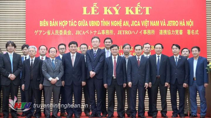 Việc ký kết 3 bên Nghệ An - JICA Việt Nam - JETRO Hà Nội với kỳ vọng mở ra nhiều cơ hội hợp tác mới giữa Nghệ An và Nhật Bản.