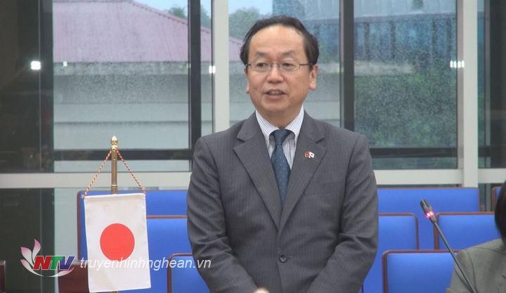 Ông Tetsuo Konaka - Trưởng đại diện JICA phát biểu