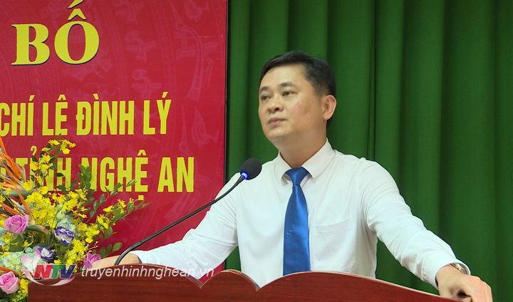 Chủ tịch UBND tỉnh Thái Thanh Quý phát biểu giao nhiệm vụ.