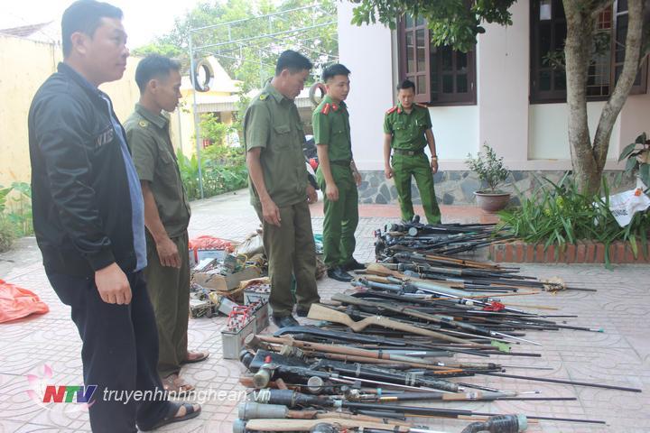 Công an huyện Con Cuông