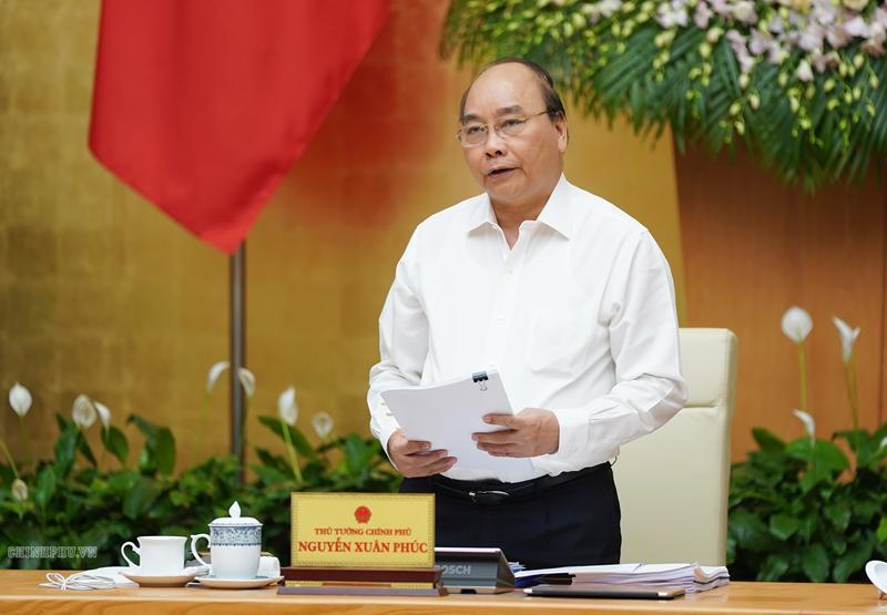 Thủ tướng Nguyễn Xuân Phúc chủ trì phiên họp Chính phủ thường kỳ tháng 8/2019
