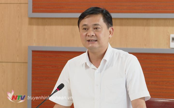 Chủ tịch UBND tỉnh Thái Thanh Quý phát biểu tại hội nghị.