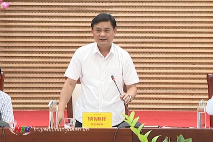 Chủ tịch UBND tỉnh Thái Thanh Quý: