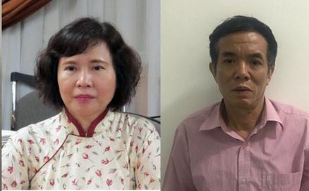 Bà Hồ Thị Kim Thoa và ông Phan Chí Dũng.