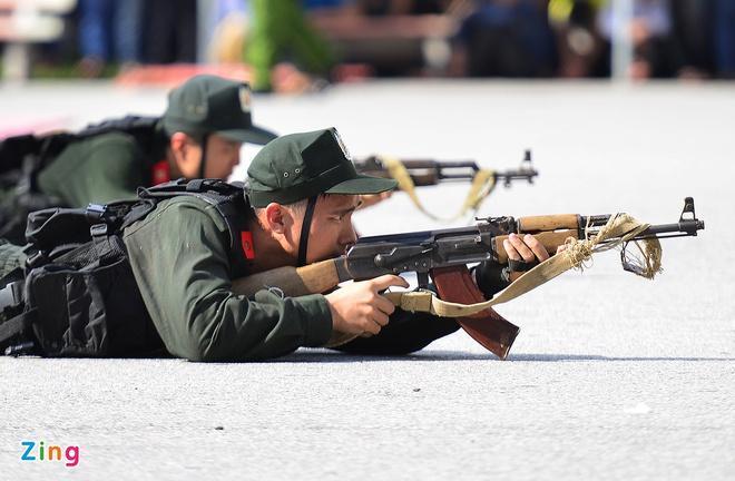 Học viện Cảnh sát nhân dân lấy hai mức điểm sàn là 17,75 và 22 điểm.