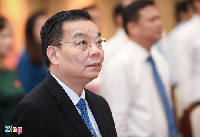 Tân Chủ tịch UBND Hà Nội Chu Ngọc Anh.