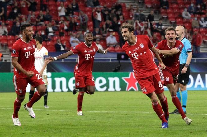 Javi Martinez ghi bàn quyết định cho Bayern ở hiệp phụ.
