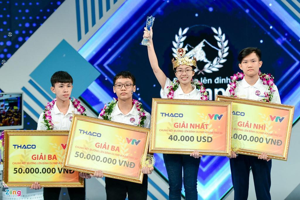 Nguyễn Thị Thu Hằng xuất sắc mang vòng nguyệt quế trận chung kết Đường lên đỉnh Olympia về cho Ninh Bình.