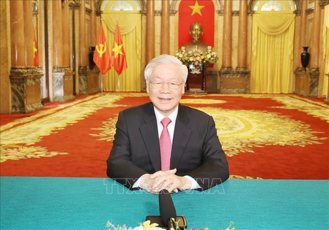 Tổng Bí thư, Chủ tịch nước Nguyễn Phú Trọng gửi thông điệp tới Phiên thảo luận chung cấp cao Khóa 75 Đại hội đồng Liiên hợp quốc.