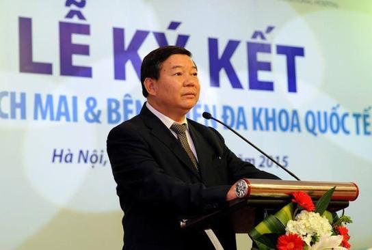 Ông Nguyễn Quốc Anh, nguyên giám đốc BV Bạch Mai