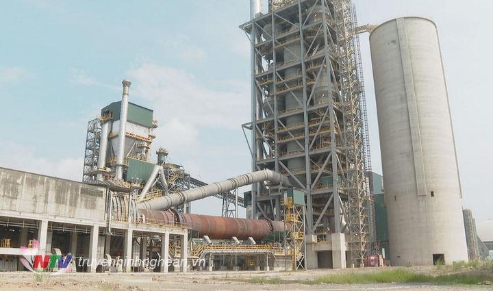 Nhà máy xi măng Tân Thắng đã đi vào hoạt động.