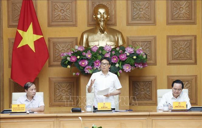 Phó Thủ tướng Vũ Đức Đam, Phó Chủ tịch Hội đồng Quốc gia Giáo dục và Phát triển nhân lực phát biểu.