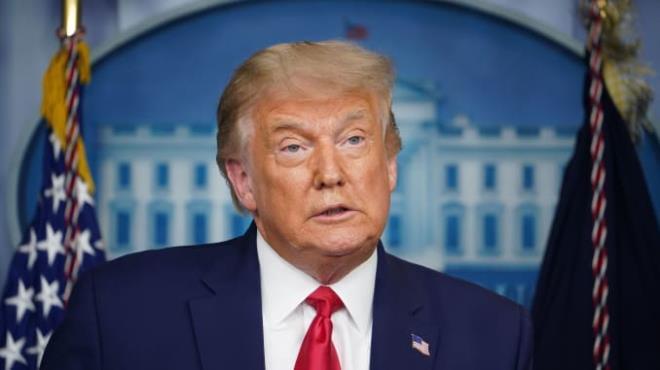 Tổng thống Mỹ Donald Trump. (Ảnh: CNBC)