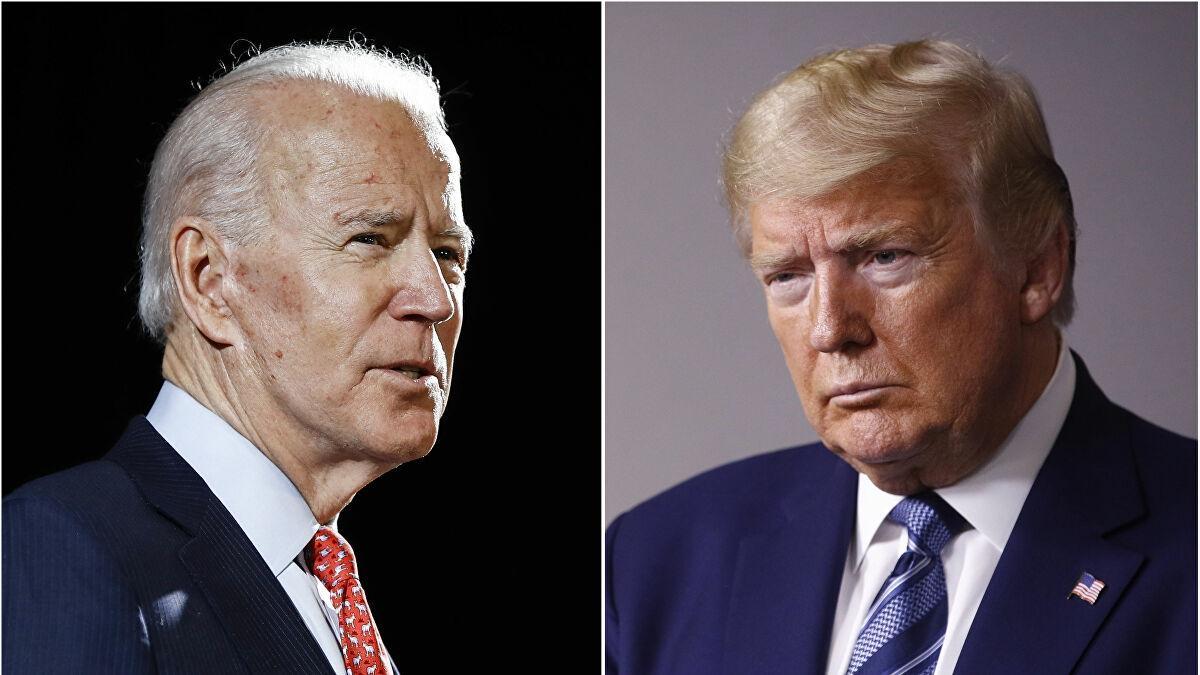 Ứng viên Joe Biden và đương kim Tổng thống Donald Trump. Ảnh: AP