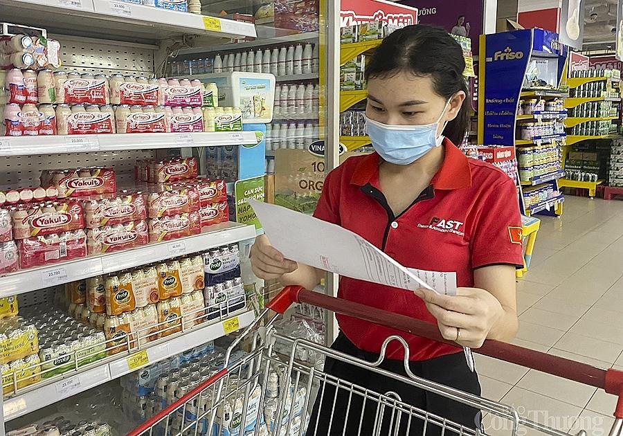 Các cửa hàng bán lẻ hiện đại cũng đã đưa một số nông sản của Nghệ An vào cung ứng cho người dân