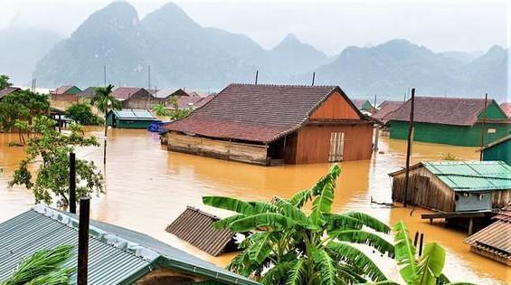 Các tỉnh miền Trung có thể đón mưa lớn dồn dập trong tháng 10 và tháng 11.