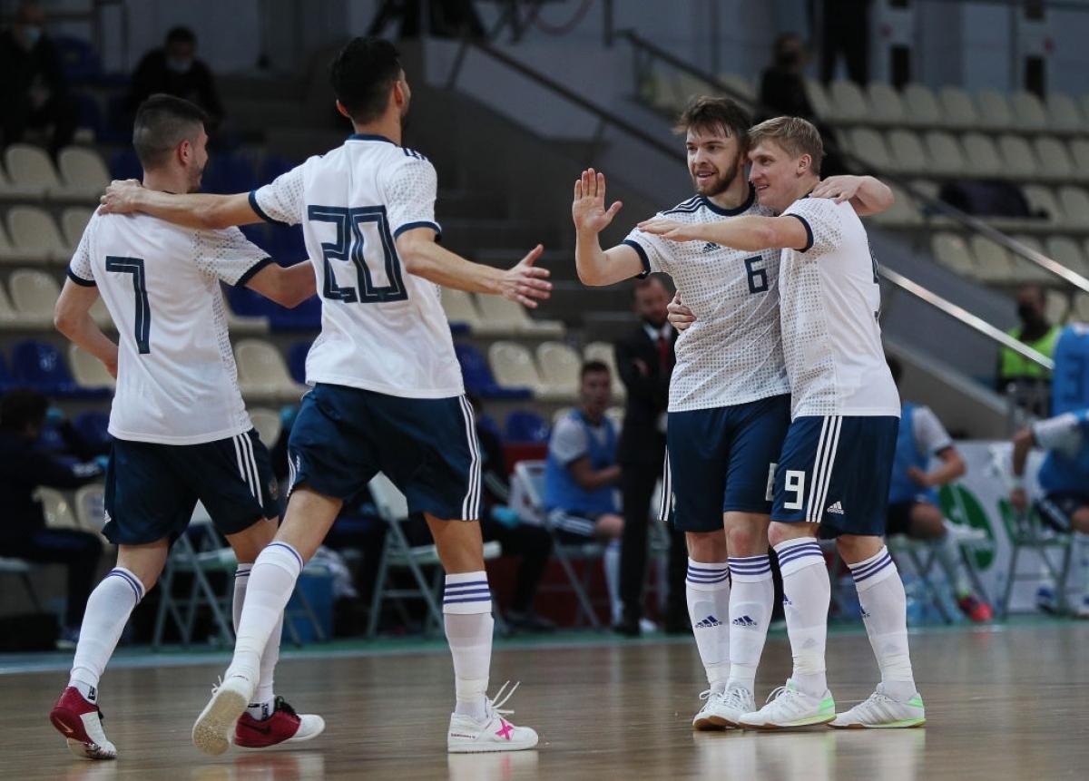 ĐT Futsal Nga sẽ đá trận khai mạcFutsal World Cup 2021 với Ai Cập lúc 20h tối nay (12/9) theo giờ Việt Nam. (Ảnh: Getty).